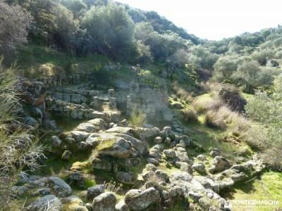 Ciudad de Vascos-Dolmen de Azután;mejor gps senderismo senderismo madrid joven y acampada